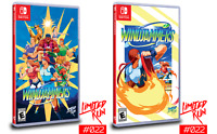 Windjammers Nintendo Switch NS Limited Run Games #22 LRG Brand New Sealed