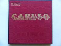 coffret CARUSO la voix d or du siecle  Anthologie 5XLP 731001 a 731005