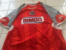 Chivas Autographed Jersey By Reebok. Player Not Known. Size M.