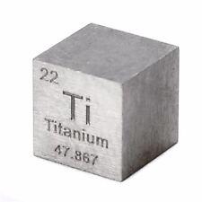 10mm Titanwürfel Titanbarren Titanium metall element cube 99.5% pure