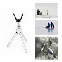 Fishing Rod Holder Bracket Telescopic Pole Adjustable Tripod Stand For Winter