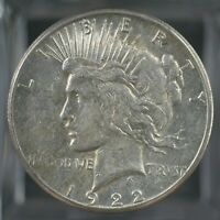 1922-S US Silver Peace Dollar AU  A-471