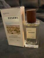 NEW Good Chemistry Mineral Desert Cologne w/Essential Oils 1.7 fl oz