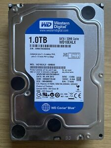 WESTERN DIGITAL 1TB WD10EALX SATA PC HARD DRIVE HDD