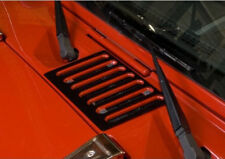 Hood Vent Cover Jeep Wrangler JK 2007-17  Textured Black 11206.05  Rugged Ridge