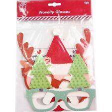 4 Regalo Navidad jarras de fiesta disfraz Cabina Fotos Accesorio Cámara