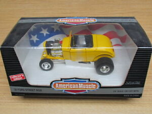 ERTL 1/18 AMERICAN MUSCLE 1932 FORD STREET ROD CE CAR