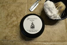PleaseShave Ultra-Rich Lather Shave Soap With Hemp Oil (Bonfire)