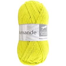 50g AMANDE CHEVAL BLANC Baumwolle Kaschmir Cotton Cashmere Babywolle Wolle 043