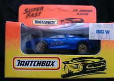 MATCHBOX MB 26 JAGUAR XJ220 BLUE with GOLD DETAILING - NEW in BOX