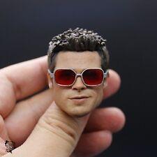NEW Custom Brad Pitt Fight Club Tyler Durden 1/6 Head Sculpt for Hot Toys Body