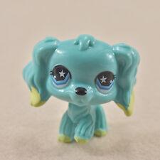 2'' LPS Littlest Pet Shop Blue Maltese Dog Animal Figure Boy Girl Dolls Toys