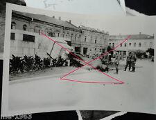 original Foto  Russland gestürztes Lenin Denkmal