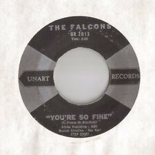 THE FALCONS 45 You're So Fine / Goddess Of Angels DOO WOP e9322 HEAR!!