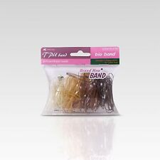 Hair Tie (Glitter Rubber Band | Brownish Tone | Large Size)