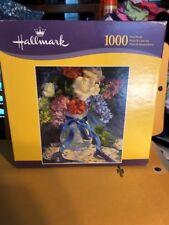 "Hallmark puzzles 1000 pieces Blue Ribbon Patriot 20 ""x 24 """
