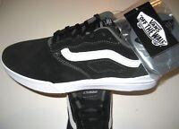 Vans Mens UltraRange Pro Black White Suede Skate shoes Size 13 VN0A3DOSY28 NWT