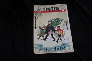 Tim und Struppi Tintin Nr. 51 1950 Cover von Herge Michel vaillant Rick Master