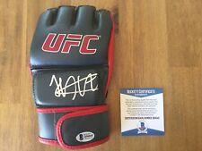 Signed Khabib Nurmagomedov UFC Glove Beckett BAS COA The Eagle 1