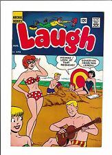 LAUGH  #173  [1965 VG+]  GUITAR COVER!