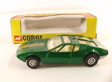 Corgi Whizzwheels n° 203 Mangusta De Tomaso neuf en boite de 1970 rare MIB