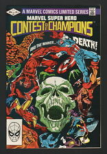MARVEL SUPER HERO CONTEST OF CHAMPIONS #3, Marvel, 1982, NM- CONDITION