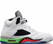 2015 Nike Air Jordan 5 Retro SZ 9.5 Pro Stars Space Jam Poison Green 136027-115