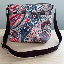 LeSportsac Small Crossbody Shoulder Bag Purse, Colorful Floral Print