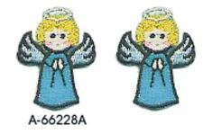Christmas Heavenly Angel Embroidery Patch