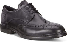New ECCO Lisbon Brogue Oxford Leather Men Shoes