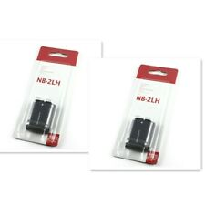 2x NB-2LH NB-2L Battery For Canon Rebel XT XTI PowerShot G9 G7 S30 S50 S80