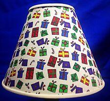 Packages Presents Gifts Handmade Lamp Shade Xmas Lampshade Christmas