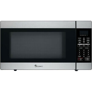 NEW Magic Chef MCD1811ST Microwave Oven 1.8 cu Ft SS