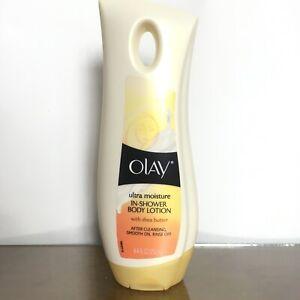 Ultramoisture OLAY In Shower Body Lotion W/ shea Butter 8.4 Fl Oz
