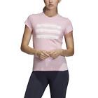 Adidas Women T-Shirts Sportstyle Pink ID Training Running Shortsleeve Tee DU0228