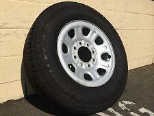 265/70/16 GoodYear SR-A tire & GMC spare OEM factory wheel rim Denali HD 8-lug