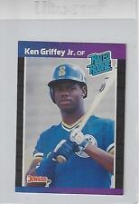 Ken Griffey Jr 1989 HOF Donruss Rookie Baseball Card #33 NM
