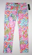 NWT $99.50  LAUREN RALPH LAUREN Women's Pants, Multicolor Floral Print, Size 10P