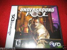 Underground Pool (Nintendo DS, DSI, 3DS, 2DS 2009)