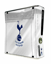 XBOX 360 SLIM Console Peau Autocollant Tottenham Hotspur Football Club Spurs New
