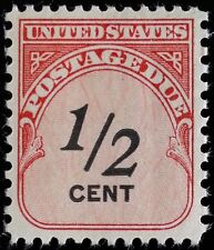 1959 1/2c Postage Due Carmine Rose & Black Scott J88 Mint F/VF NH