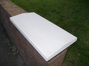 """16"""" Twice weathered heavy duty concrete coping stone/coping/wall copings/blocks"""