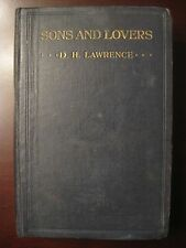 Sons and Lovers 1913 *FIRST PRINTING* edition D.H. Lawrence dh