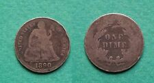 Usa United States - One Dime 1890