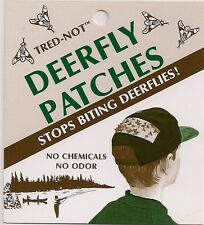 40 pk Deerfly Patches Deer Fly Insect Patch STOP BITES.   (Ten 4/pks) Tred-Not
