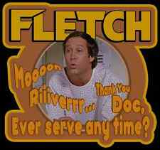 """80's Comedy Classic Fletch Mr. Babar """"Moon River"""" custom tee Any Size Any Color"""