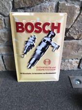 Bosch Blechschild Zündkerze 60 cm x 40 cm Neu