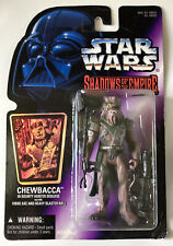 NEW Star Wars Shadows of the Empire Chewbacca in Bounty Hunter Disguise Kenner