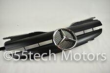 97~04 R170 SLK 230 320 Grille Grill Mercedes AMG 1 FIN LOOK = MATTE BLACK CH STA