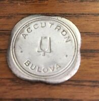 VINTAGE BULOVA ACCUTRON  WATCH BATTERY HATCH OPENER COIN KEY TOOL 214 SPACEVIEW
